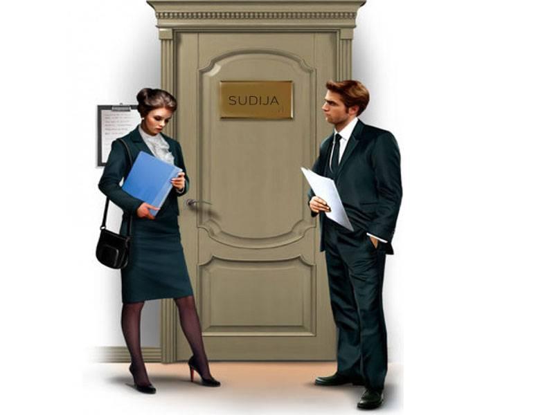 O advokaturi i sudstvu